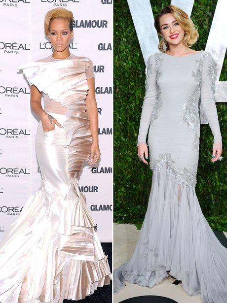 Rihanna 'v' Miley Cyrus fashion