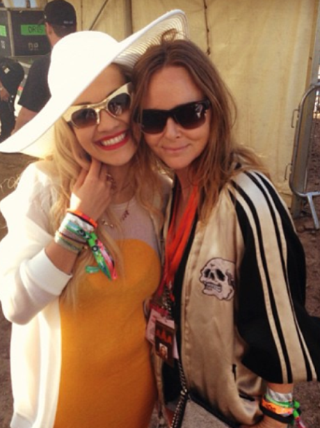 Rita Ora and Stella McCartney Instagram