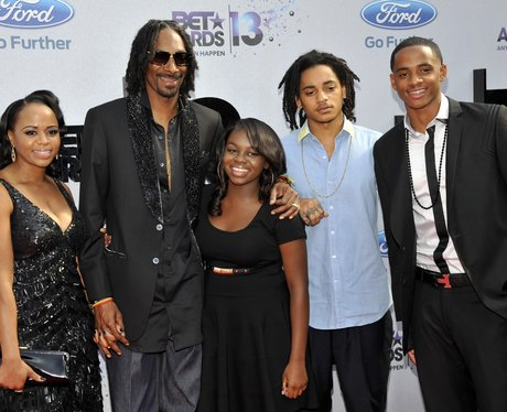 Snoop Dog and Family BET Awards 2013