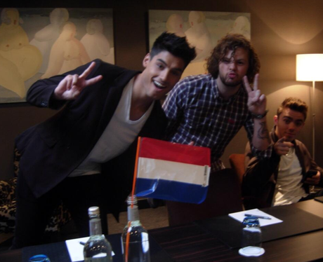 The Wanted in Holland