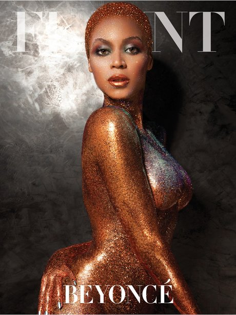 Beyonce Flaunt magazine front cover