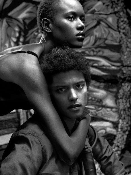 Bruno Mars models