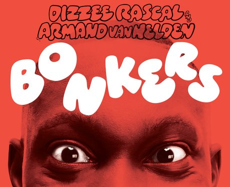 Dizzee Rascal Bonkers single cover