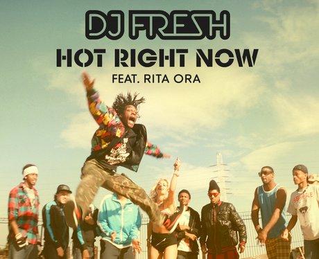 DJ Fresh Feat. Rita Ora Hot Right Now single cover