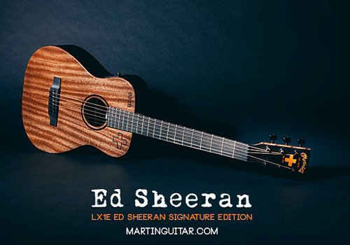 ed sheeran to raise money for duchess of cambridge charity with new signature guitar capital. Black Bedroom Furniture Sets. Home Design Ideas