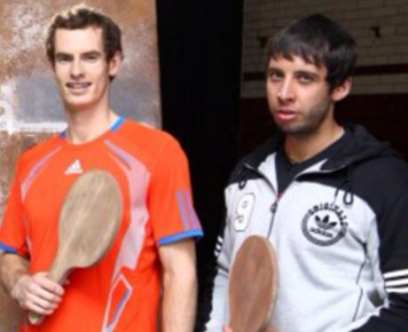 Example Andy Murray wooden bats