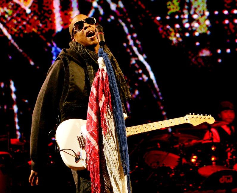 Jay-Z Glastonbury performing