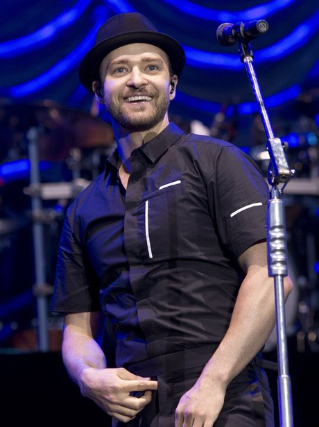 Justin Timberlake live at the Wireless Festival in London