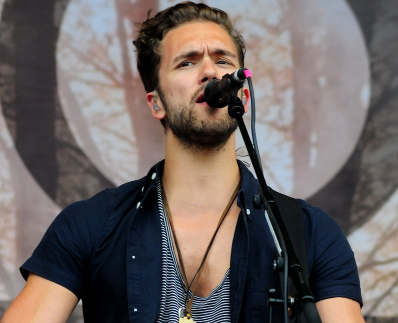 Lawson Andy on stage at T in the Park 2013