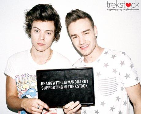 Liam Payne and Harry Styles Trekstock