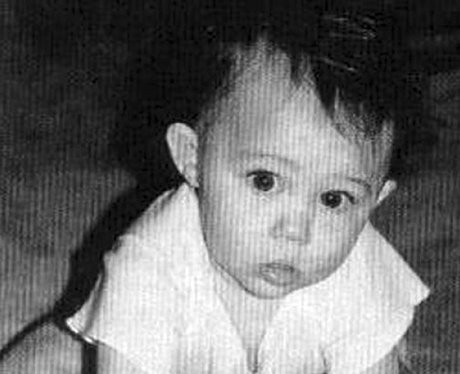 Miley Cyrus as a baby