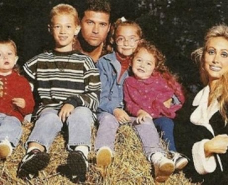 Miley Cyrus family picture