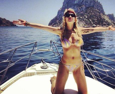 Rita Ora on holiday
