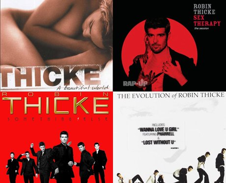 Robin Thicke albums