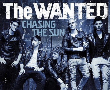 The Wanted Chasing The Sun single cover