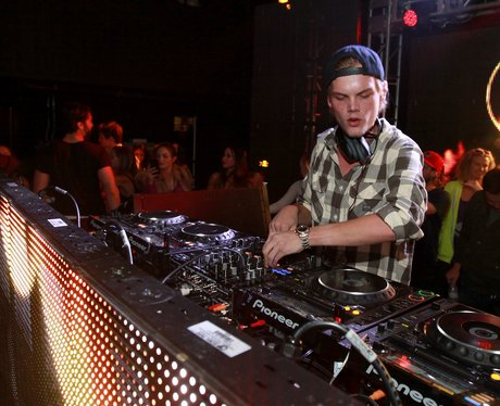 Avicii djing in a club in Utah