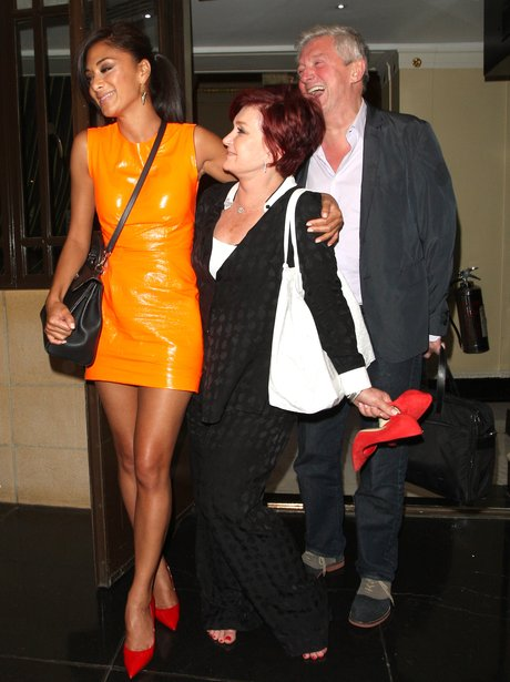 The X Factor judges on a night out