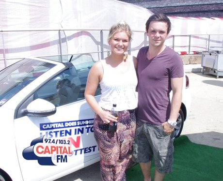 Capital FM at the Food and Drink Festival 2013