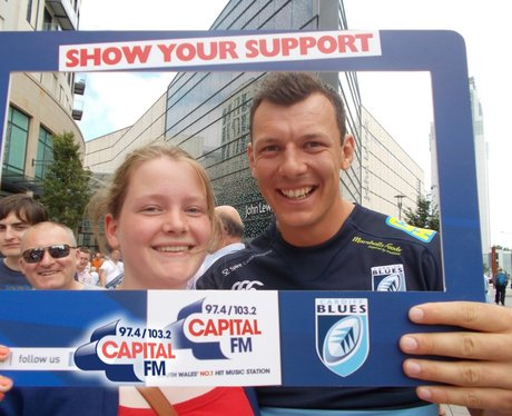 Capital were there for the launch of the Cardiff B