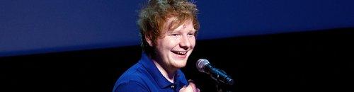 Ed Sheeran on stage