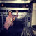 Image 8: Harry Styles hides under the stage