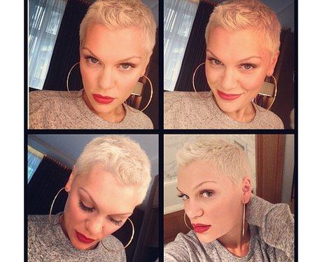 Jessie J shows off her new quiff