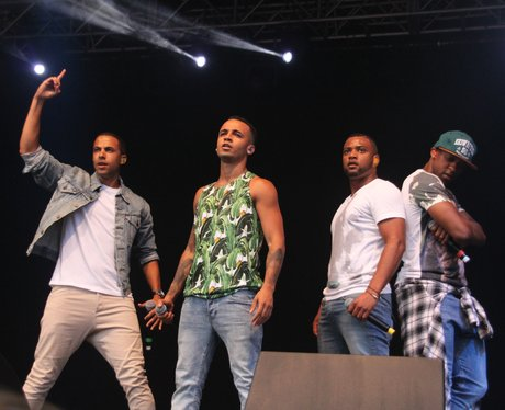 JLS at Ponty's Big Weekend