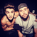 Image 6: Justin Bieber with his manager Scooter Braun