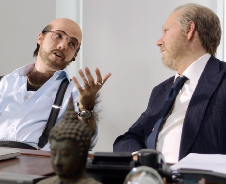 Niall Horan and Louis Tomlinson in the 'Best Song Ever' music video