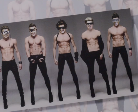 One Directon in the 'Best Song Ever' music video