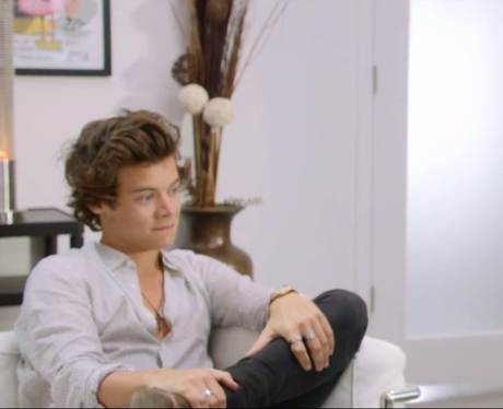 We think it's a 'no' from Harry on this one guys! - One ...