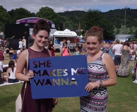 You guys at Ponty's Big Weekend 2013