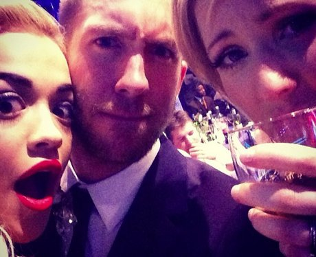 Calvin harris and Rita Ora and Ellie Goulding