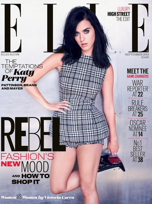 Katy Perry's Elle magazine cover