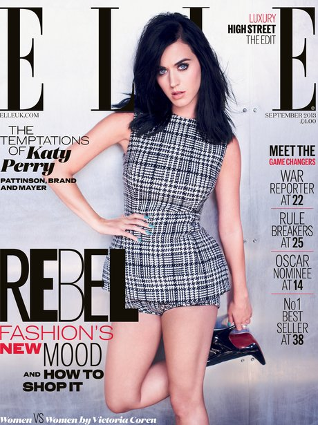 Katy Perry ELLE Magazine 2013 cover