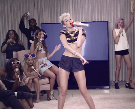 Miley Cyrus Director's Cut 'We Can't Stop'
