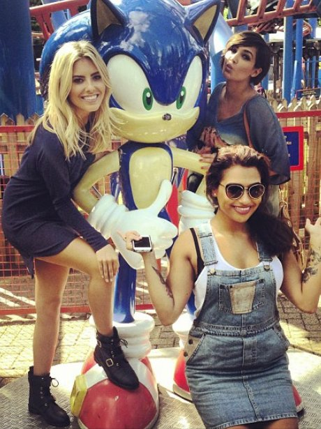 The Saturdays at Alton Towers