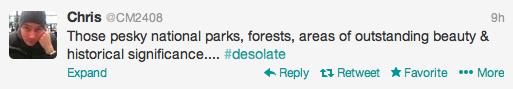 Twitter Desolate
