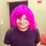 Image 1: Ed Sheeran wearing a pink wig