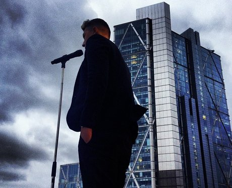 John Newman video shoot on instagram