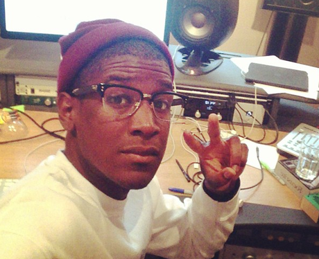 Labrinth in the studio instagram