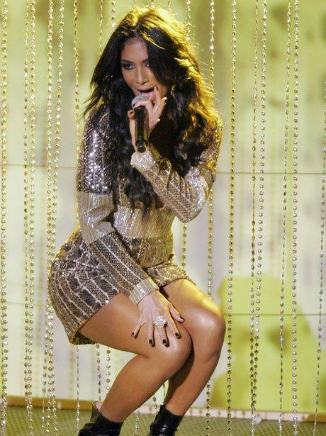 Nicole Scherzinger on stage