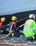 Fire at Premier Waste UK