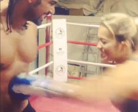 Rita Ora and David Haye