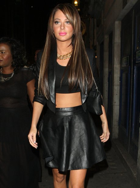 Tulisa on a night out