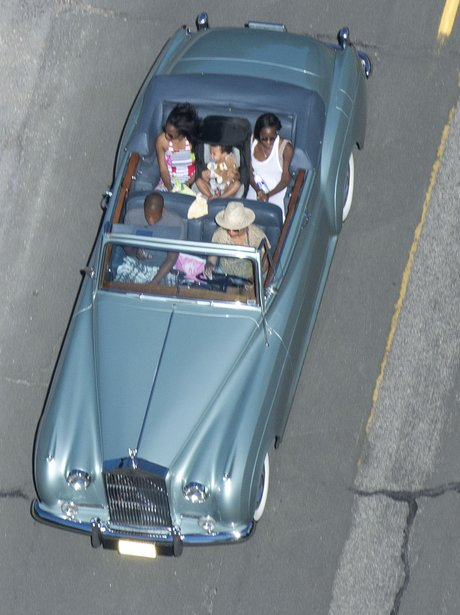 Beyonce and Jay-Z in the car together