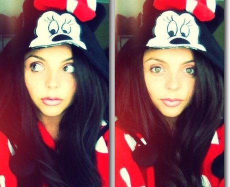 jessie Nelson dressed as minnie mouse