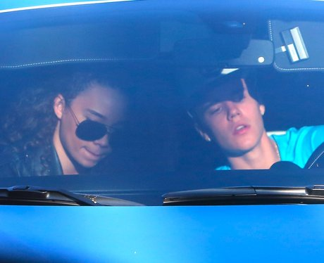 Justin Bieber spotted with a mystery girl