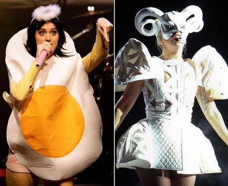 Katy Perry and Lady Gaga: Crazy Stage Outfits