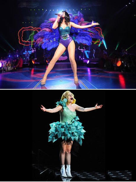 Katy Perry and Lady Gaga: Sell Out Tour